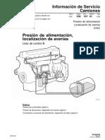 Is.23. Presion de Alimentacion, Localizacion de Averias. Edic. 1