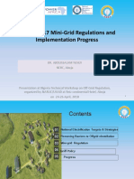 Minigrid Regulation and Implementation Progess2