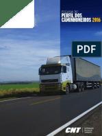 Pesquisa CNT de Perfil Dos Caminhoneiros 2016 Completo