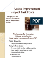 rjip task force initiatives presentation - updated 4