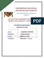 Laboratorio Química- Difusión de Gases