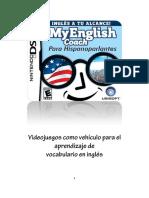 Cideojuegos Como Vehiculos Para El Aprendizaje Del Vocbularioen Ingles