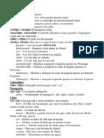 Resumo de HTML