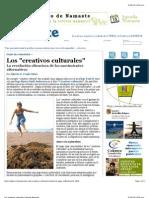 Los Creativos Culturales | Revista Namaste