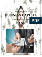 31 Ways of Raising Business Capital