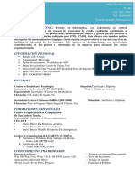 C.v Heber Gonzalez Limon Rol - L2