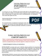 Fund Sociológicos Do Comportamento