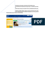 Info Booking Web