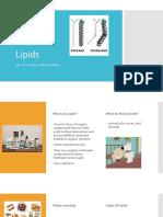 biology lipids project