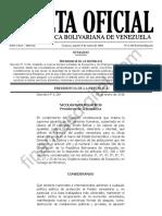 Gaceta Oficial Extraordinaria 6356