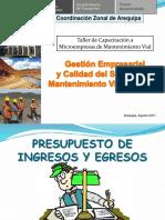 4 Presupuesto de Ingresos y Egresos