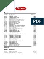 Lista Delphi