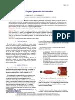 5to Informe Máquinas Eléctricas-Generador Eléctrico