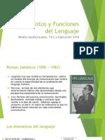Elementos y Funciones Del Lenguaje Roman Jakobson