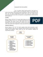 Metode Kuantitatif (populasi, sample, instrument pengumpulan data, desain penelitian)