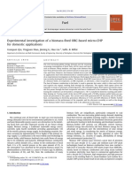 Experimental Investigation of a Biomass Fired ORC Based Micro CHP Fo 2012 Fu