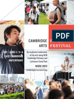 2018 Cambridge Arts River Festival