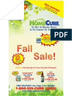 HomeCure Fall Catalog