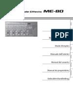 Manual ME 80 Multilingual