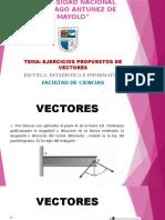 Vectores Ejercicios Matematica Informatica y Estadistica