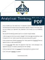 Written Lecture Analytical Thinking Method