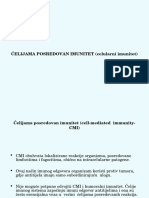 Celijski imunitet - predavanje