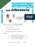Ficha La Inferencia Para Cuarto de Primaria