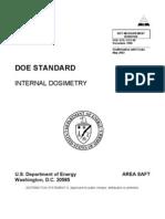 Doe Internal Dosimetry Doe Std 1121 98