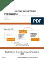 Modelo Estándar de Comercio Internacional