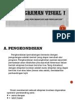 Ppt Pemrograman Visual i