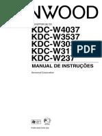 Kenwood KDC W311-Portuguese
