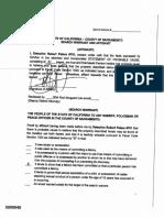 DeAngelo Redacted Search Warrant