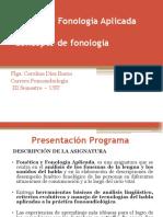 Fonética y Fonología Aplicada