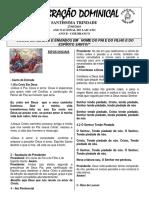 Folheto 27 de Maio de 2018 Santíssima Trindade (1)