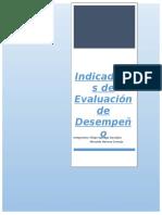 Trabajo de Indicadores de Evaluación de Desempeño