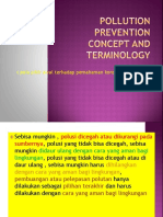 Pollution Prevention Concept and Terminology