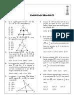 Geometria - Semejanza de Triangulos