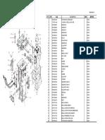 FEN02448-00 Parts Book JTHB210-3 Top Mount Bracket