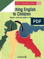 Teaching English to Children Longman