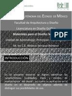 Materiales Para El Diseño Metales