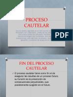 Presentación Proceso Cautelar