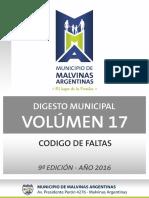 Vol. 17 - Codigo de Faltas
