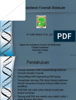 Ilmu Kedokteran Forensik Molekuler
