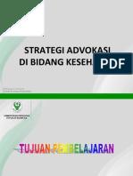 Strategi Advokasi Kesehatan