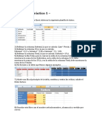 Practicas de Excel TIC