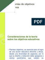 Taxonomías de Objetivos