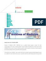 archives of medicine