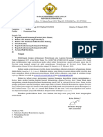 Surat Permintaan Data Jatim. Dan Lampiran 1 s.d. 4
