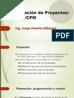 PERT-CPM Ruta Critica Holgura Project