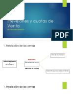 Previsiones y Cuotas